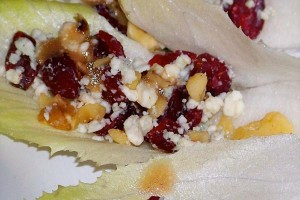 Endive and Walnut Appetizers