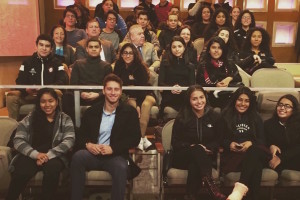 Kyle Ross and students at the Dr.Oz Show