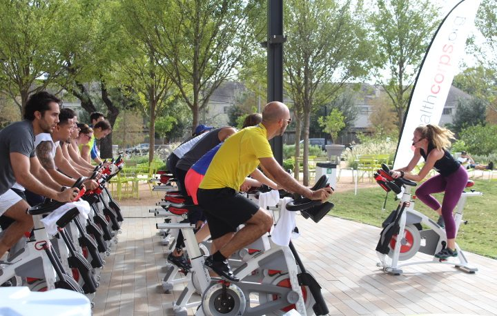 CycleBar Sawyer Heights Charity Ride for HealthCorps