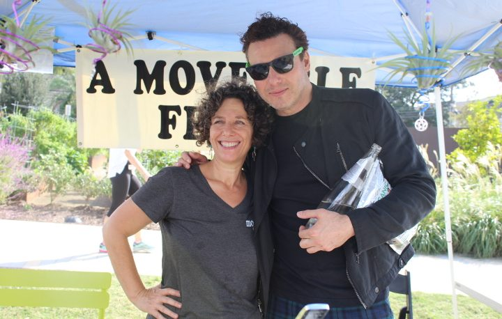 Event Sponsor, Lisa Eck from A Moveable Feast and Rocco DiSpirito