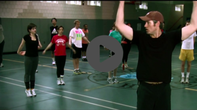 HealthCorps Workout with Joel Harper
